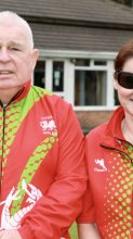 Meet the Team – Wales' B2/3 VI Mixed Pairs