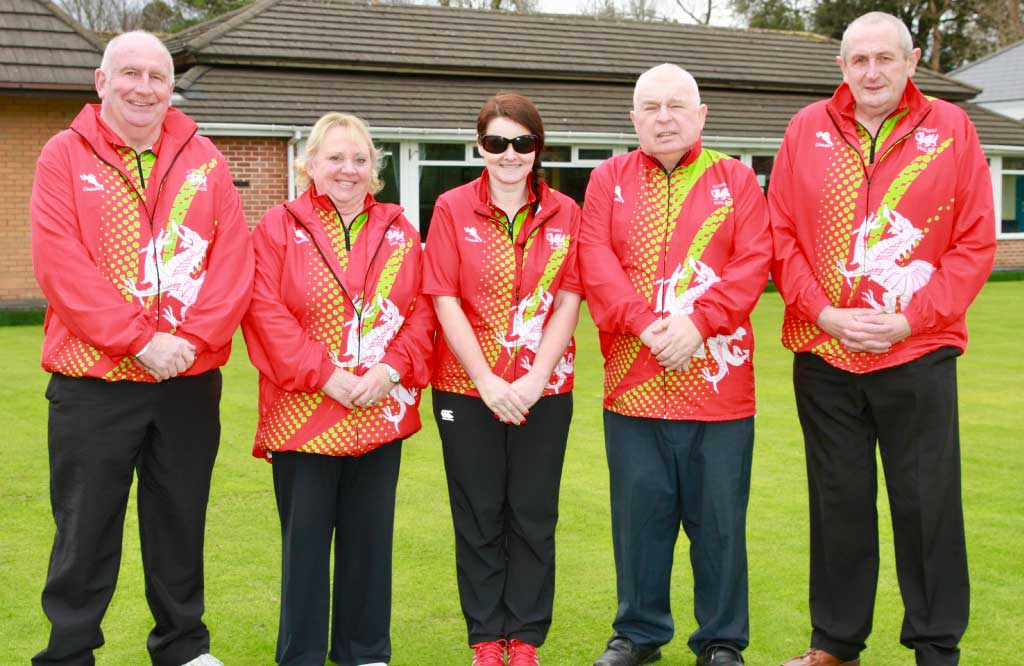 BowlsWales, Team Wales, VI Pairs, visually impaired bowls