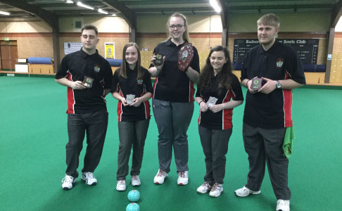 Indoor Bowls Frantic Five Winners