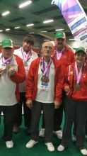 Welsh Bowlers success at Special Olympic Anniversary Games