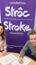 Stroke Survivors use Bowls as recovery